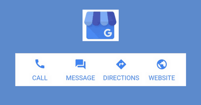 Google Business Listing Messaging Buttons